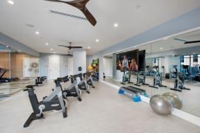 Spin and yoga room   Glenn Perimeter