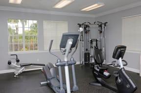 Fitness center with cardio machines  | Ashlar