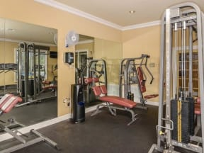 The fitness center is open 24 hours a day |Bay Harbor