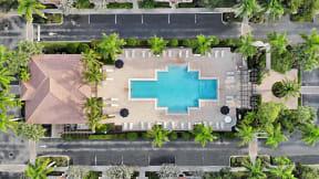 Aerial View of Pool