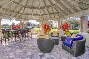 Outdoor Lounge area   Cypress Legends
