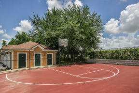 Basketball court    Grandeville on Saxon