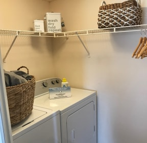 In-home washer and dryer   Caribbean Isle