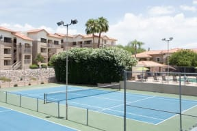 Tennis courts    Promontory