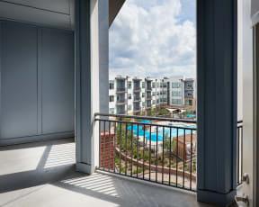 Private balcony   Inspire Southpark