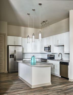 Kitchen with quartz countertops   Inspire Southpark