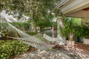 Hammock courtyard | Yacht Club