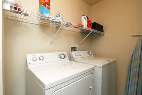 Full sized washer and dryer in every home  Ballantrae