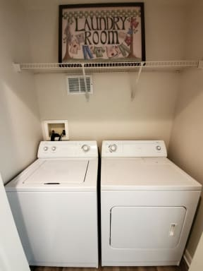 In-home washer and dryer  | Bay Harbor