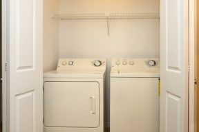 In home washer and dryer | Village Oaks