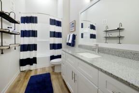 Bathroom   Lofts at Zebulon