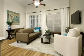 Living room   Lofts at Zebulon