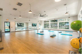 exercise studio room