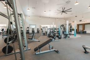 Fitness center   Monterey Ranch