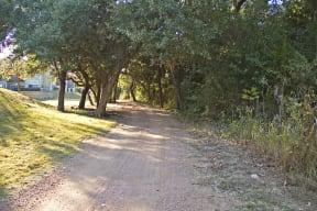 Running trail   Monterey Ranch
