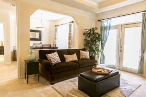 Living room | Park at Monterey Oaks