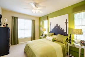 Bedroom | Museo apartments | Austin
