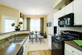 Fully equipped kitchen | Museo apartments