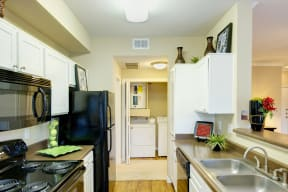 Fully equipped kitchen | Museo rentals