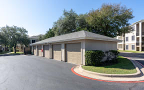 Garage parking   Northland at the Arboretum   Austin TX