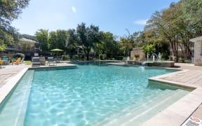 Pool   Austin apartments   Northland at the Arboretum