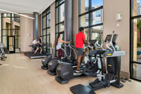 State of the art fitness center   Inspire Southpark