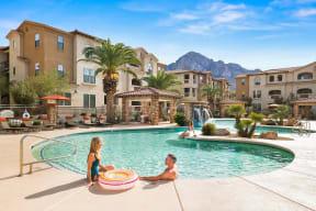 Resort style swimming pool |Villas at San Dorado
