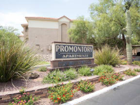 Welcoming property signage   Promontory