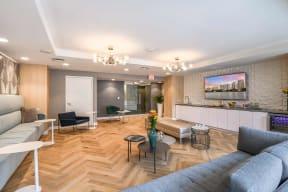 Club room lounge | Paramount on Lake Eola