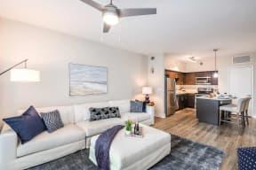 Living room  | Paramount on Lake Eola