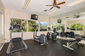 Fitness center  | Lakes at Suntree