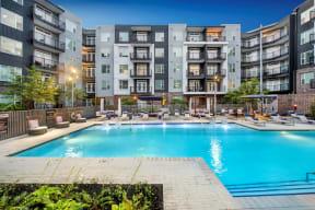 Resort style swimming pool   Glenn Perimeter