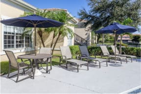 Poolside Dining Tables  Cypress Legends