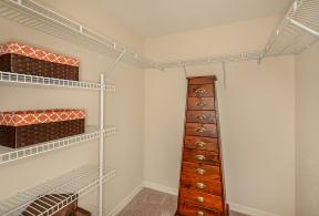Spacious apartment closet | Promenade at Reflection Lakes rentals | Fort Myers