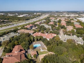 Aerial view of community | River Stone Ranch