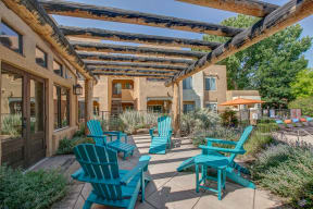 Relax on the outdoor patio  | Vizcaya