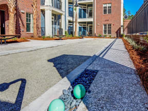 Bocce Courtyard |The Standard