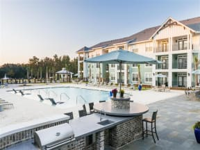 Poolside Grilling |Wharf 7