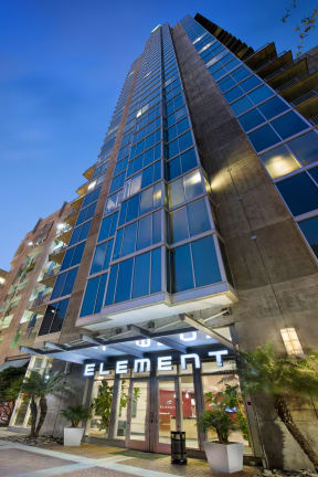 Live in the center of it all! | Element