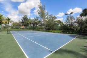 Tennis Court  | Monterra at Bonita Springs