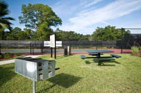 Picnic and grill area | Yacht Club