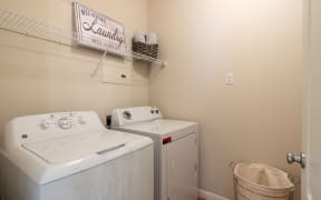 In home washer and dryer | Park at Monterey Oaks