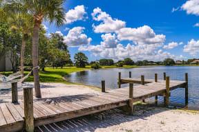 Enjoy the beautiful lake views
