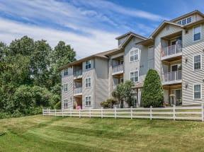 Enjoy beautiful landscaping around your home  Residences at Westborough