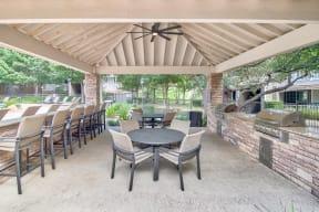Outdoor Kitchen| Lodge at Lakeline Village