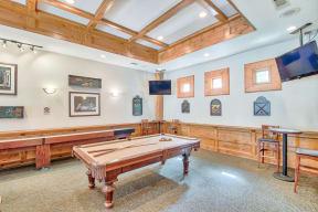 Game Room| Lodge at Lakeline Village