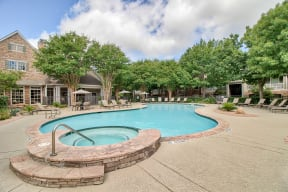 Resort style swimming pool | Lodge at Lakeline Village