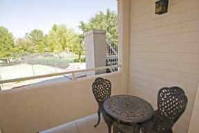 Private balcony | Hilands
