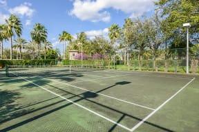 Tennis courts | Via Lugano