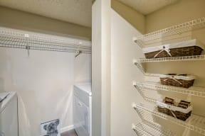 Spacious closet storage | Village Place